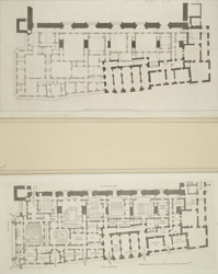 [Plan of Law Courts adjoining Westminster Hall]